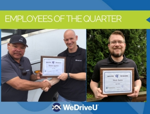 WeDriveU Honors Employee Excellence