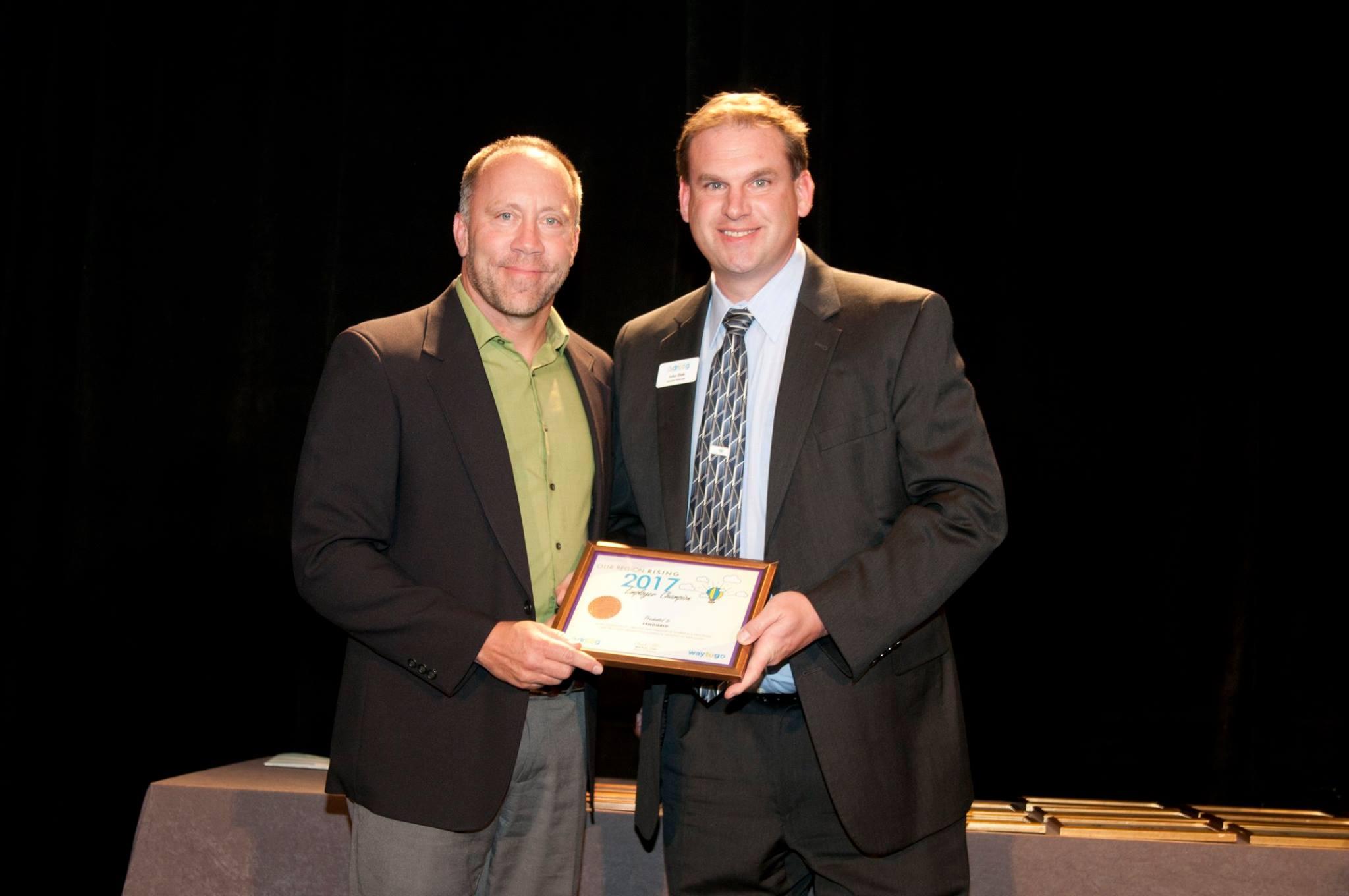 Employer Champion Award