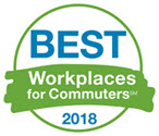 2018 Best Workplaces for Commuters Awards
