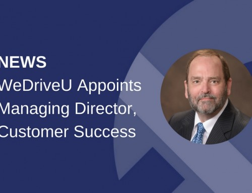 WeDriveU Appoints Managing Director, Customer Success