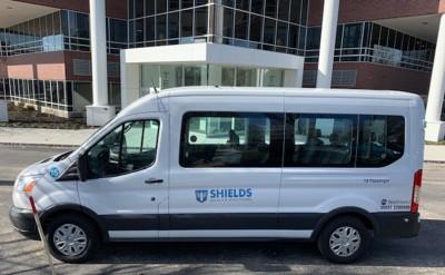 WeDriveU Shields Health Last Mile Employee Shuttle