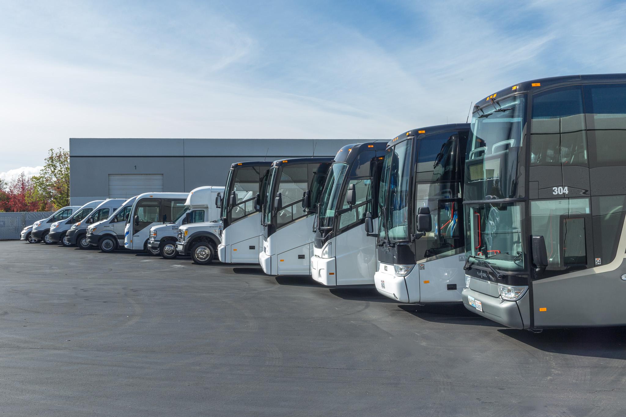 WeDriveU's shuttle fleet