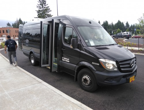 WeDriveU Rolls Out Shuttles for Clackamas Community College