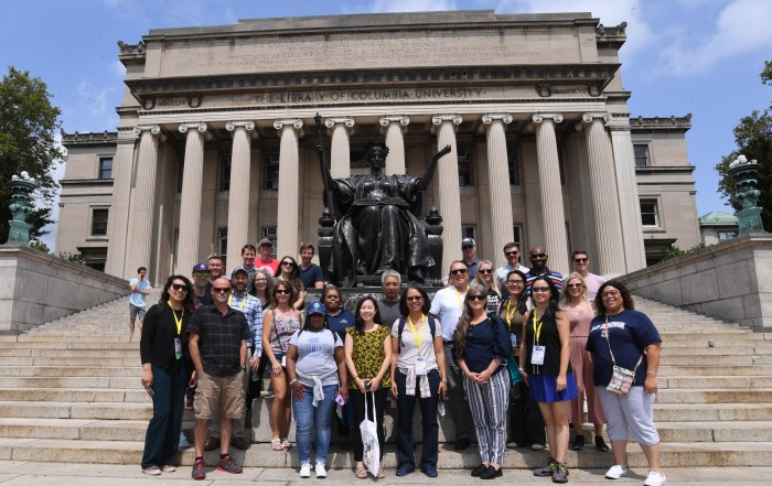 Columbia University TDM Tour group photo