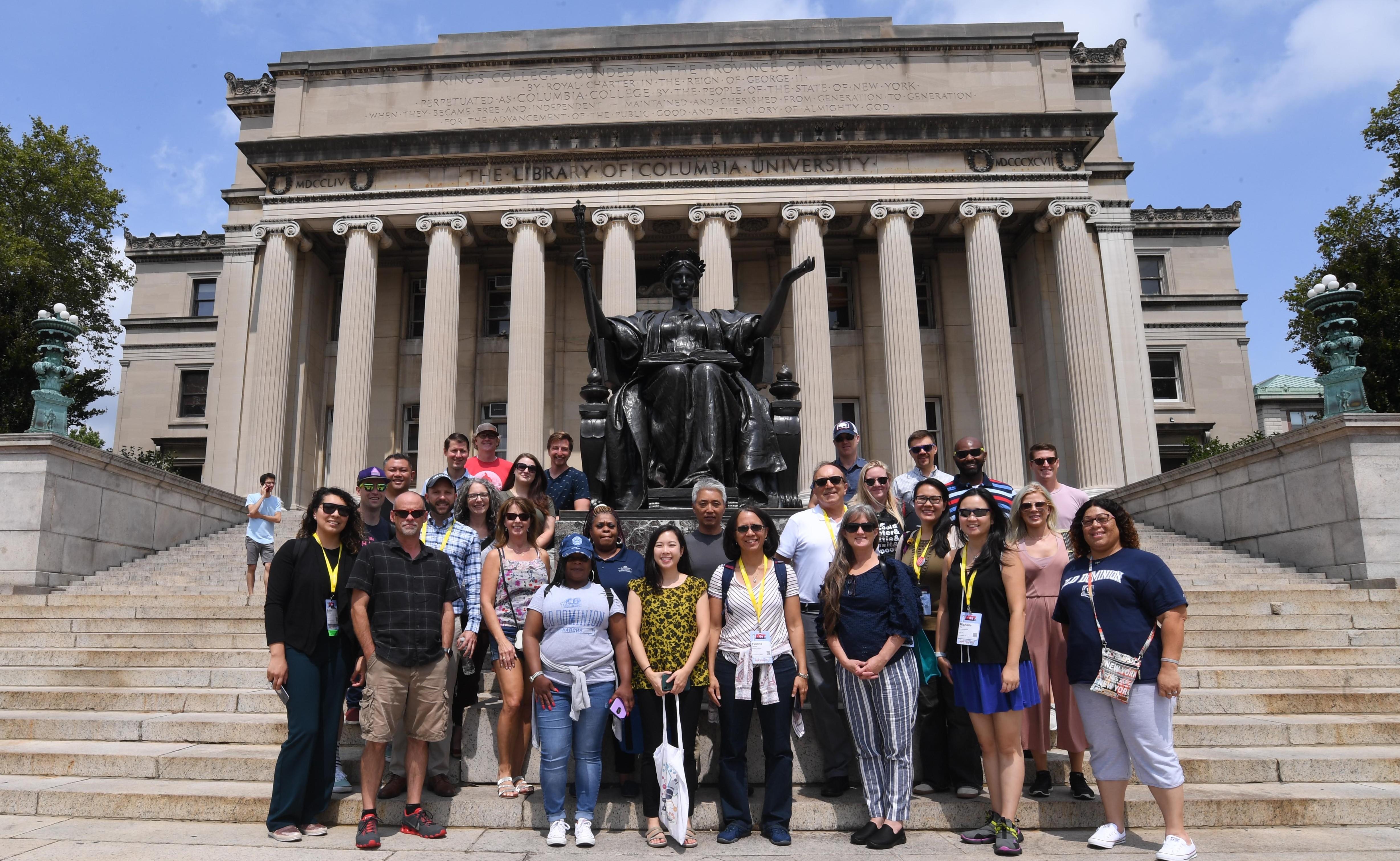 Columbia University TDM Tour group photo