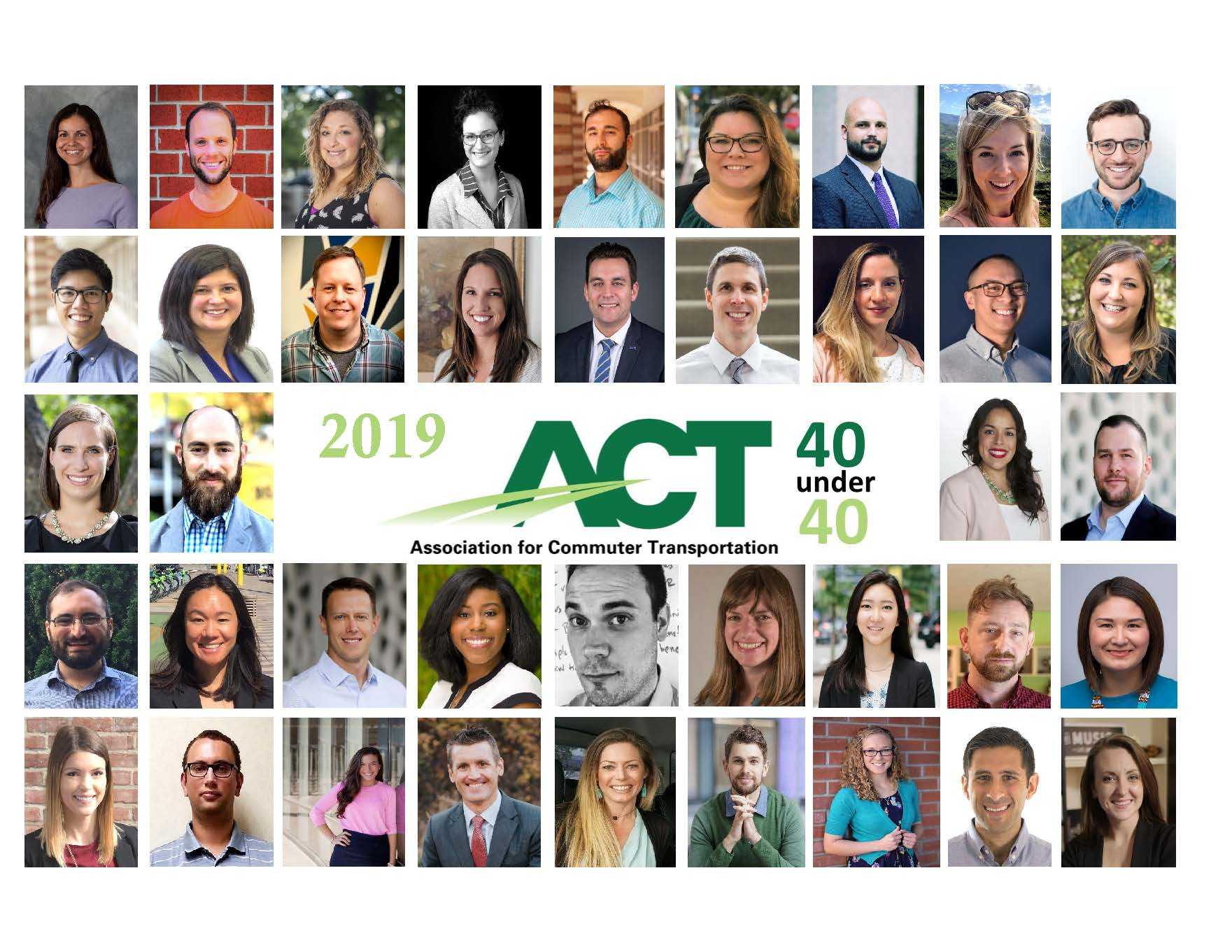 WeDriveU Leaders Named to ACT 40 Under 40 Awards 2019