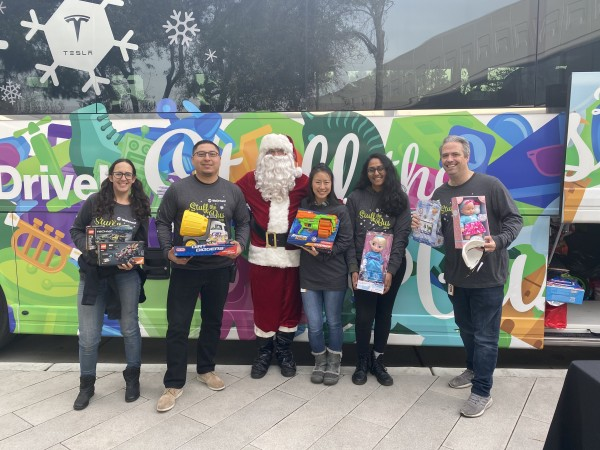 2019 WeDriveU Stuff the Bus Toy Drive with RideIn