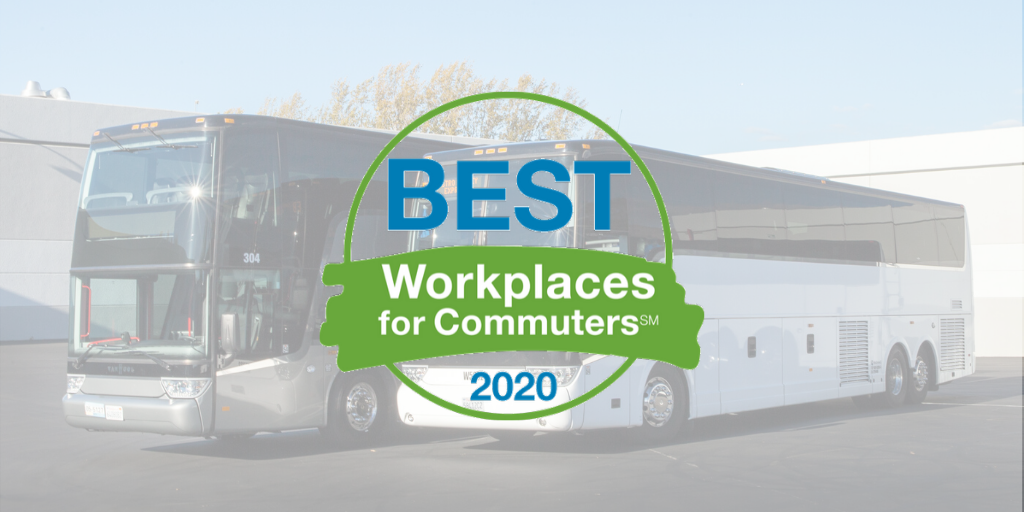 WeDriveU Salutes Best Workplaces for Commuters