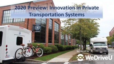 2020 Preview - Innovation in Transportation webcast