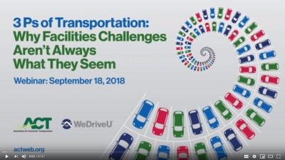 3Ps of Transportation Webcast