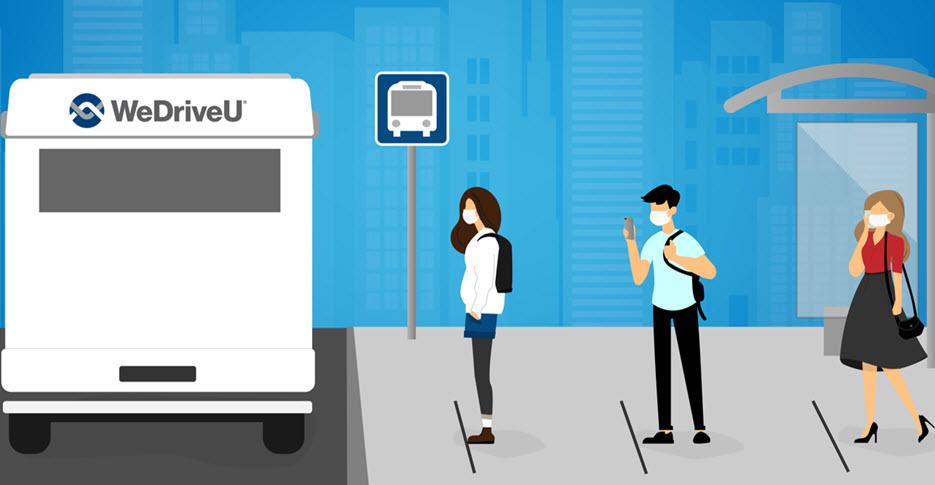 WeDriveU Return to Work Employee Shuttles