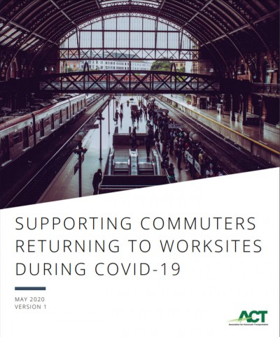 ACT Report cover Supporting Commuters Returning to Work