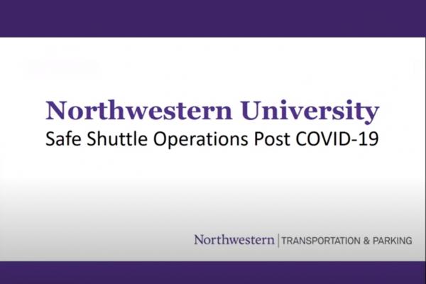 Northwestern University Safe Shuttles COVID-19