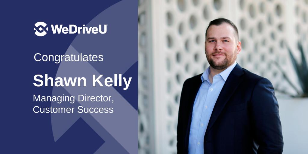 Shawn Kelly WeDriveU MD Customer Success